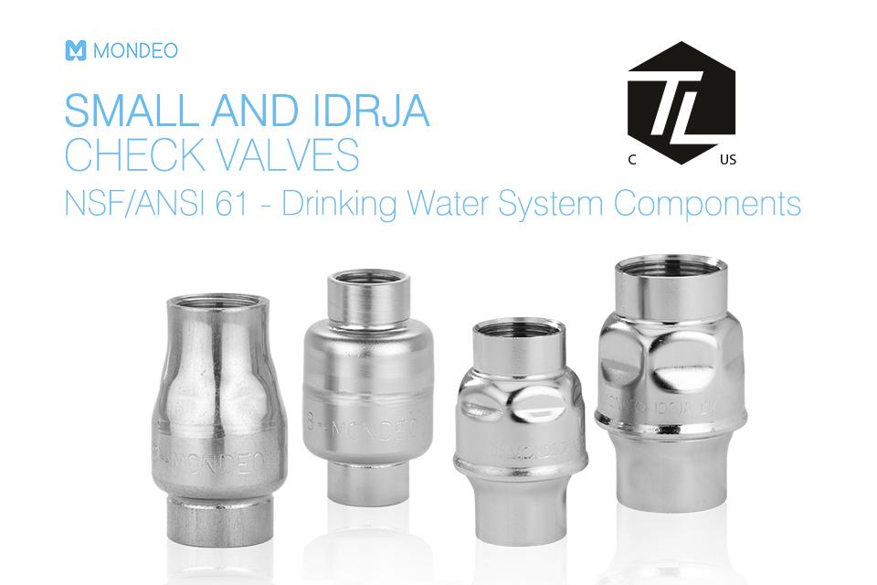 Certificazione NSF/ANSI 61 per componenti per acqua potabile